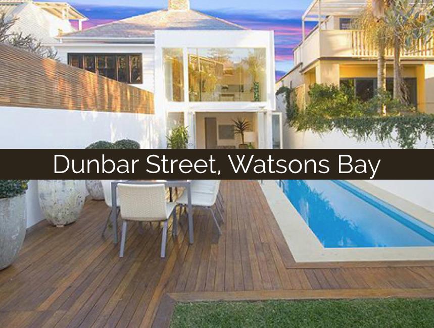 Dunbar Street, Watsons Bay