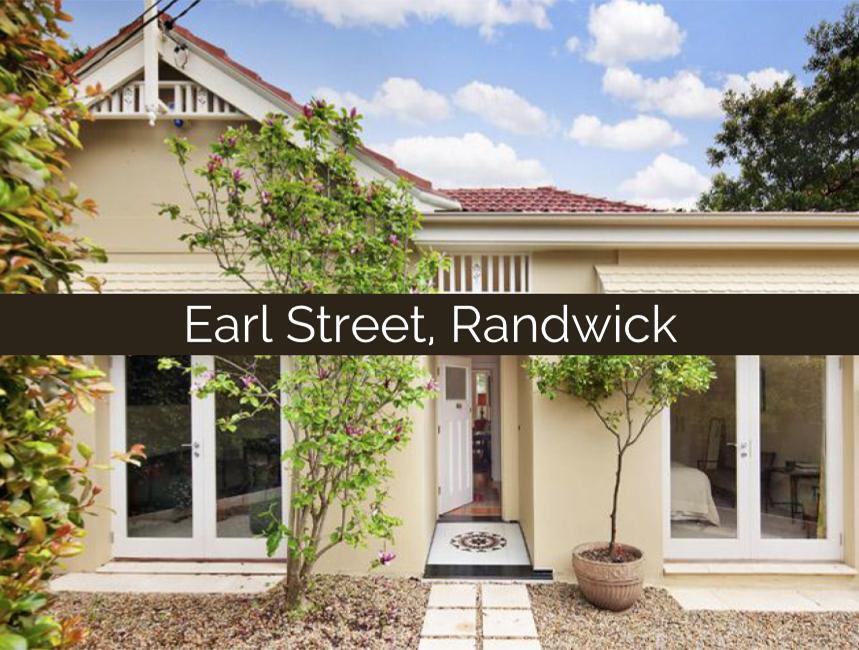 Earl Street, Randwick